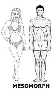 mezomorfik vücut tipleri için beslenme