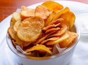 aft oluşumunda patates cipsi
